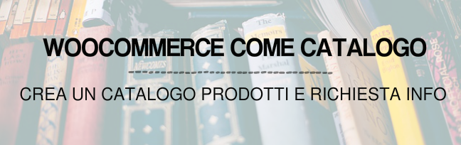 woocommerce solo catalogo